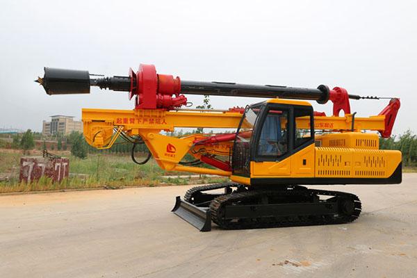LD-515履帶式機鎖杆旋挖鑽機圖片